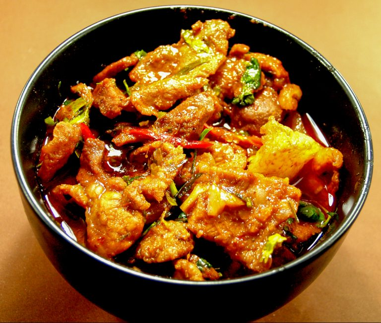 Spicy Trout Fish Curry