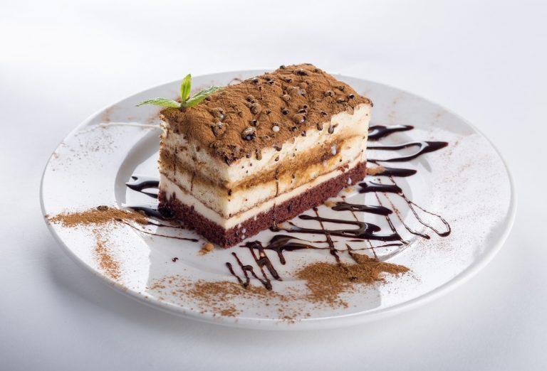 Coffee Mocha On Velvet Cake