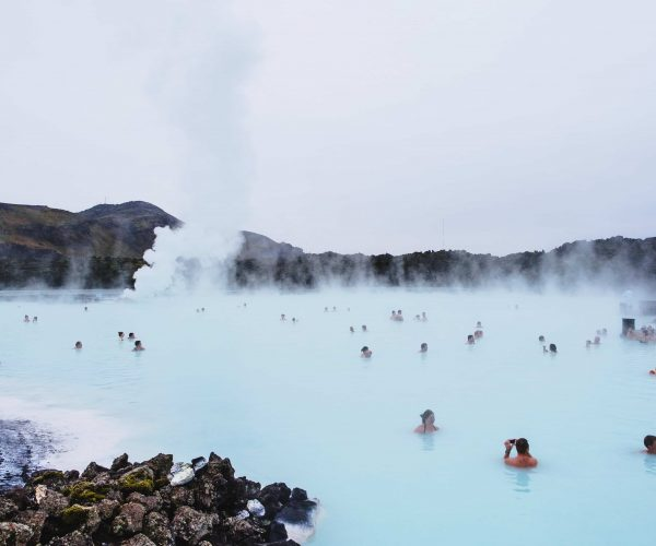 Hot Water Spring in Iceland