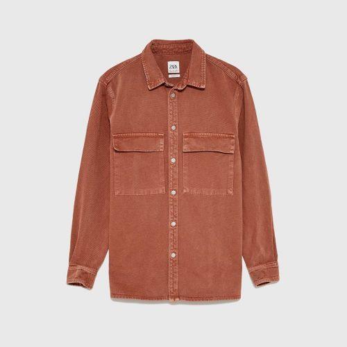 Brown Velvet Coat